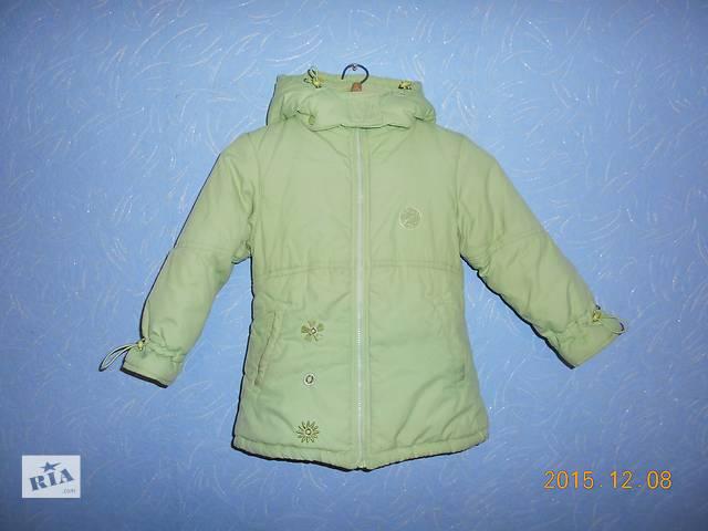 купить бу Утепленная куртка на девочку, 4-6 лет в Макеевке