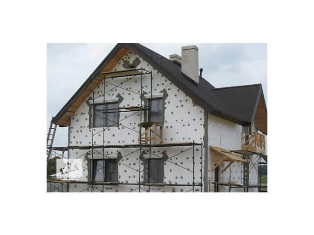 продам Утепление фасадов+ сопутствующие работы( демонтаж и монтаж окон и дверей) бу  в Украине