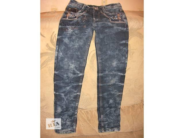 купить бу Утеплённые джинсы для девочки. в Кривом Роге