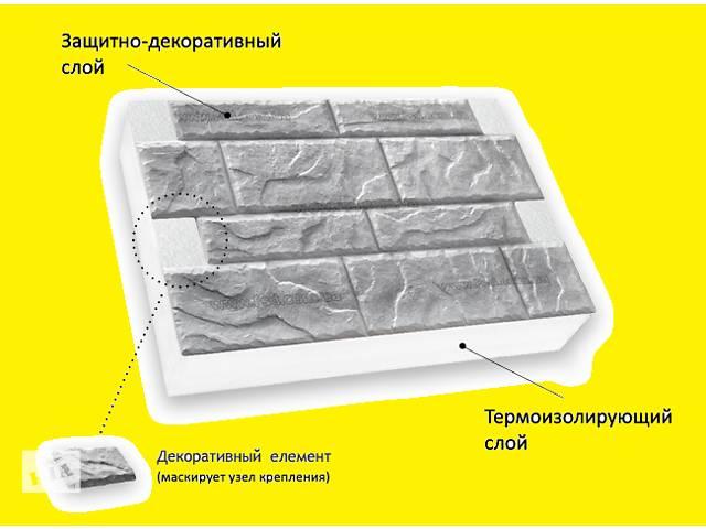 """купить бу Утепление фасадов домов термоплитами """"SunRock"""". в Одессе"""