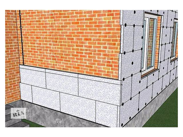 Утепление наружных стен дома пеноплексом своими руками видео