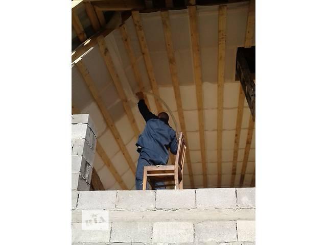 бу Утепление стен в домах Экоизолом(жидкий пенопласт.пеноизол) в Виннице