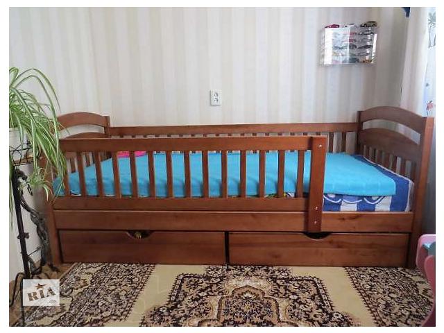 продам Детская деревянная кровать Карина! бу в Киеве