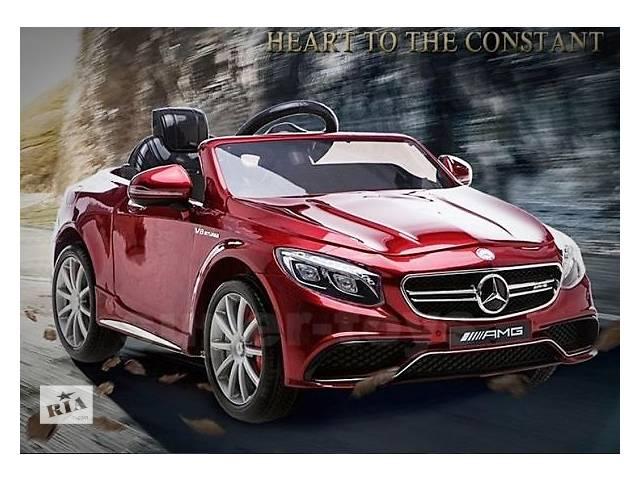 продам В наличии Детский электромобиль Mercedes AMG S63 HL169 по лучшей цене бу в Львове