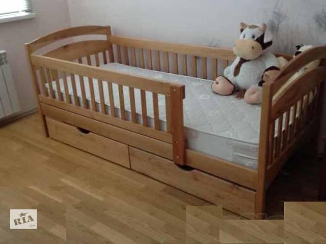 купить бу В наличии со склада детская кроватка Карина цена с бортиками и ящиками в Киеве