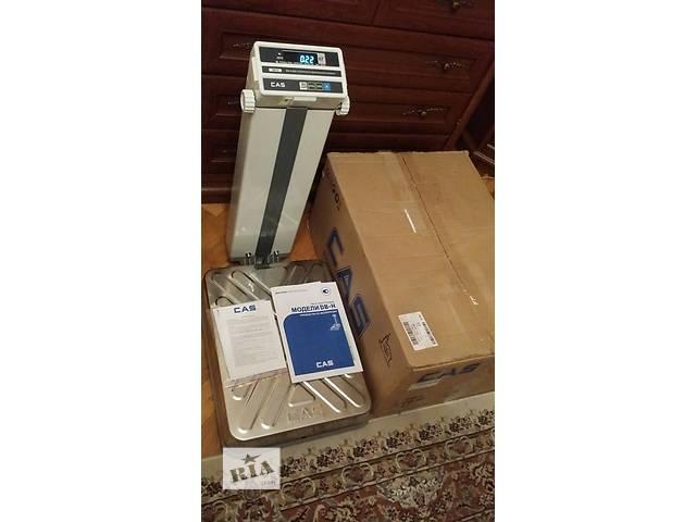 Вага товарна електронна CAS DB-150H- объявление о продаже  в Ивано-Франковске