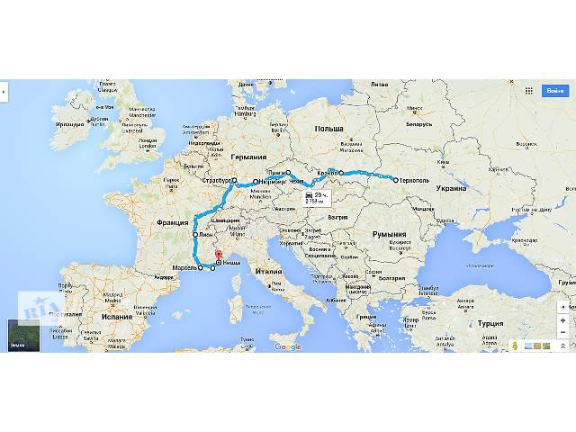 Вантажо-пасажирські перевезення Україна-Франція- объявление о продаже   в Украине