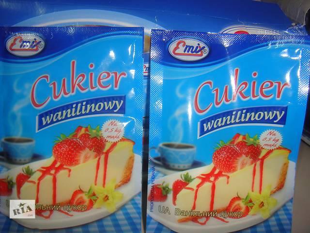 купить бу Ванильный сахар Emix  в Украине