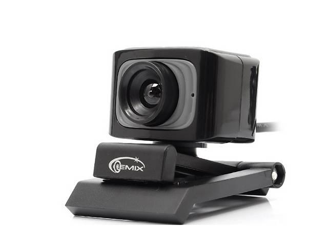 бу Веб-камера Gemix F5 Black 1.3Mp в Киеве