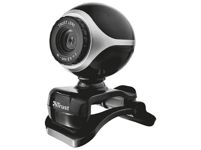 бу Веб-камера Trust Exis Webcam Black-Silver в Киеве