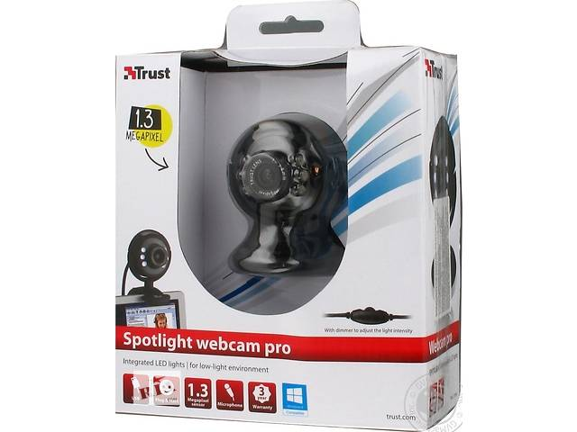 купить бу Веб-камера Trust SpotLight Pro 1280x1024 в Киеве
