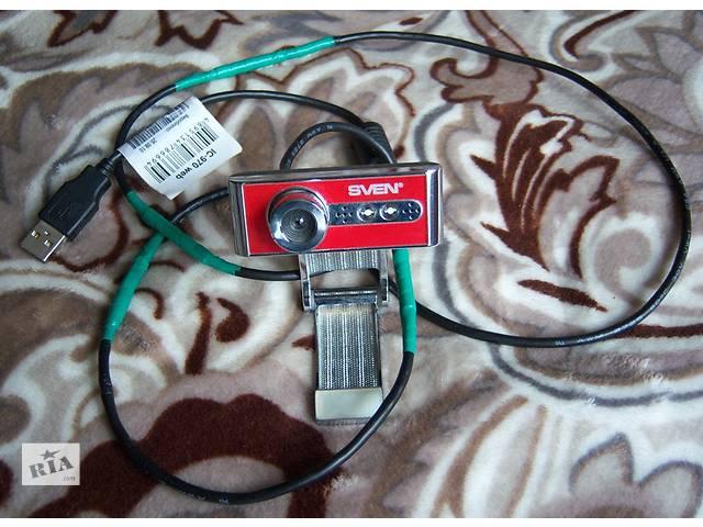 купить бу Веб-камера с микрофоном SVEN IC-970 - рабочая в Львове