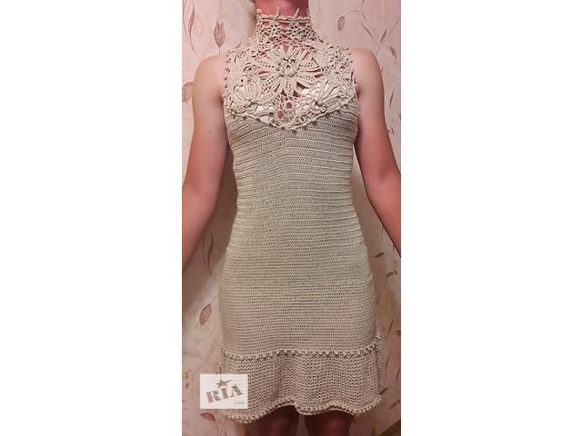 бу Вечернее платье - ирландское кружево в Одессе