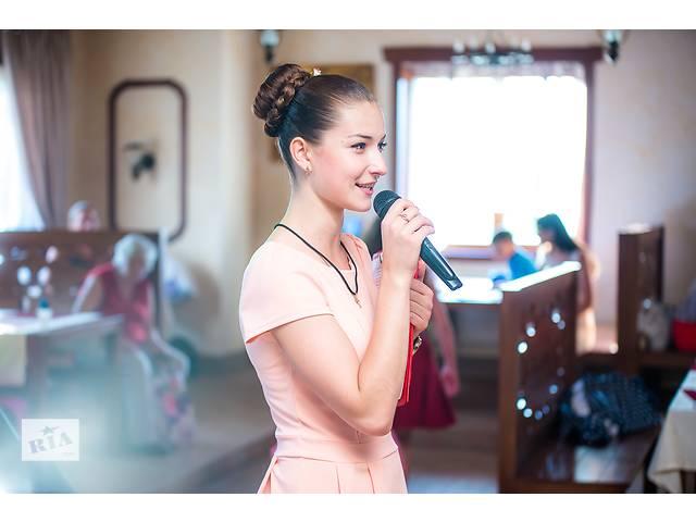 Ведущая не Тамада + DJ.(вокал) Юбилей, Корпоратив, Свадьбу, Новый год- объявление о продаже   в Украине