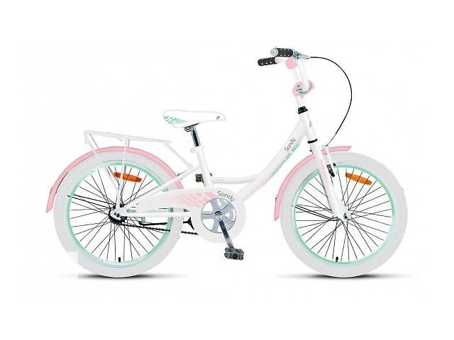 продам Велосипед 20` Sandy 2016 Pride, Бело-Розовый Глянцевый бу в Киеве