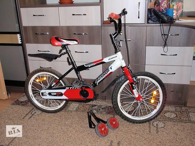 купить бу Велосипед Azimut Stitch 16 Черно-красный в Киеве