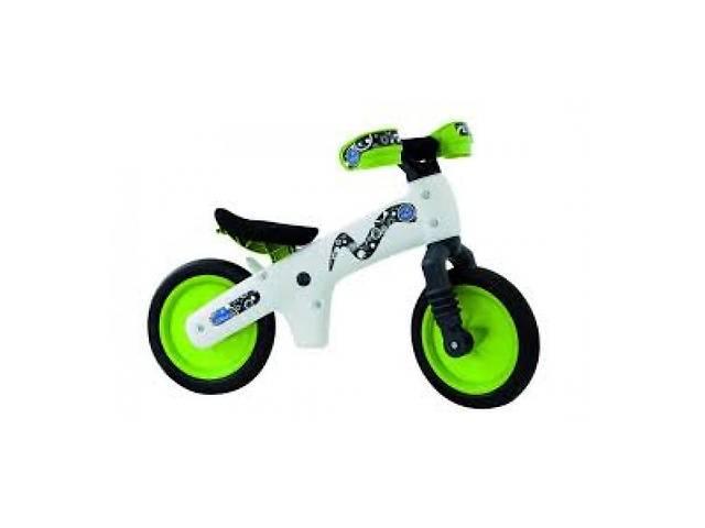 купить бу Велосипед (Беговел) B-Bip Pl Bellelli, Белый С Зелеными Колесами в Киеве