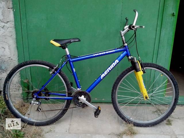 продам велосипед горный Merida бу в Львове