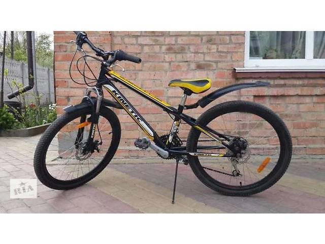 купить бу Велосипед Kinetic 24 SNIPER - Disk 12 черный подростковый в Черновцах