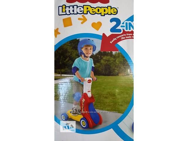 """продам Велосипед самокат трансформер """"LITTLE PEOPLE"""" бу в Чугуеве"""