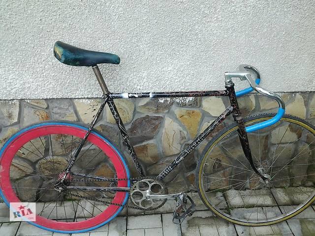 продам Велосипед спортивний Bianchi дуже хороший накат шоссе трек хвз фикс fixed gear fixie рекорд.  бу в Ужгороде