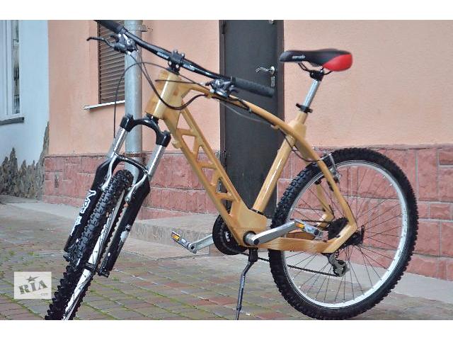 бу Велосипед из натурального дерева   в Стрые
