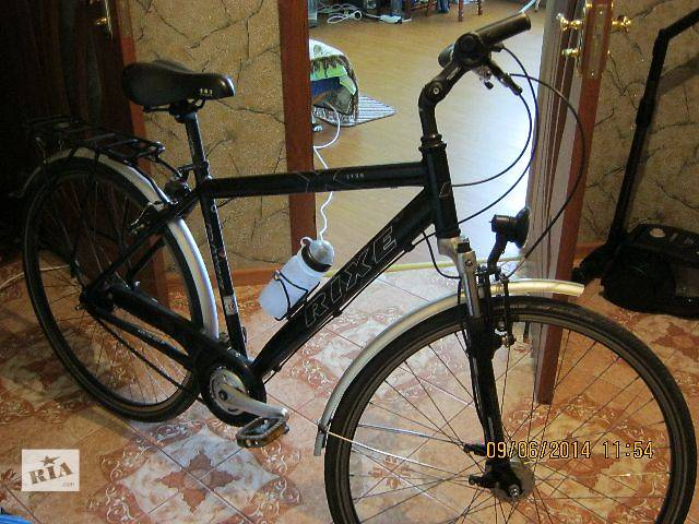 продається німецький шосейний  велосипед RIXE LYON алюмінєєва рама,(планітарка 7 передач) динамо ,- объявление о продаже  в Луцке