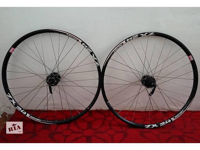 продам Велосипедные колеса 26''-обод Alexrims Ready ZX24, втулки Shimano M475 бу в Сумах