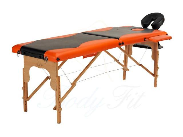 купить бу Массажный стол деревянный 2-х сегментный стол для массажа в Киеве
