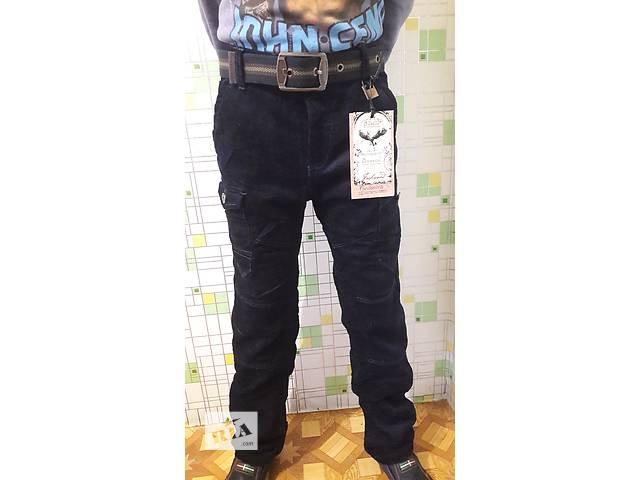купить бу Вельветовые брюки штаны на флисе 134-158 см в Днепре (Днепропетровск)
