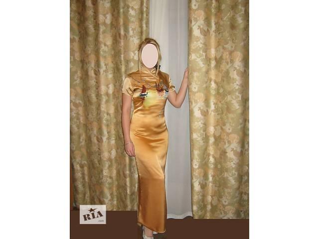 купить бу Великолепное шелковое платье в Запорожье