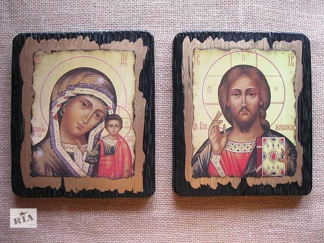 продам Венчальная Пара. Казанская Пр.Богородица и Спаситель бу в Киеве