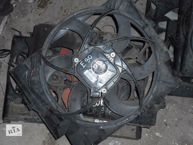 купить бу вентилятор радиатора для BMW 3 Series, E90, 2.0tdi, 2007 в Львове