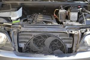 Вентиляторы осн радиатора BMW X5