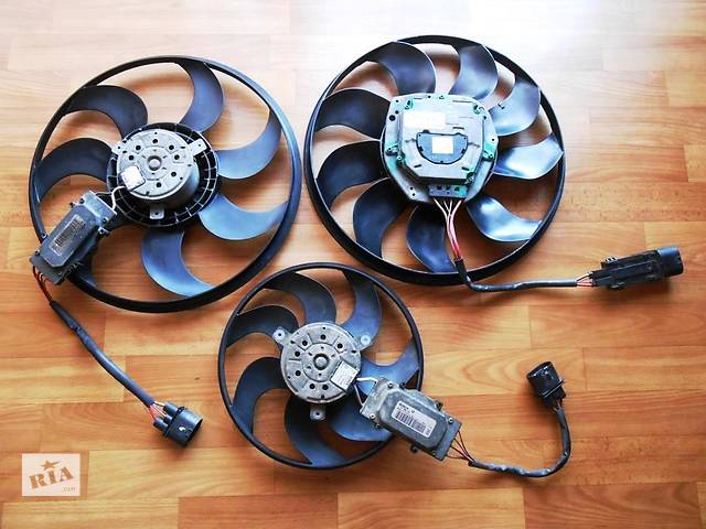 бу Вентилятор основного радиатора 7L0959455C 7L0959455F Audi Q7 Ауди К7 Ауди Кю7 в Ровно