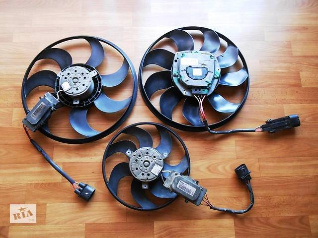 бу Вентилятор основного радиатора 7L0959455D 7L0959455G Audi Q7 Ауди К7 Ауди Кю7 в Ровно