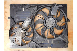 Вентилятор рад кондиционера, диффузор, диффузор Touareg, Cayenne, Q7 Туарег Каен