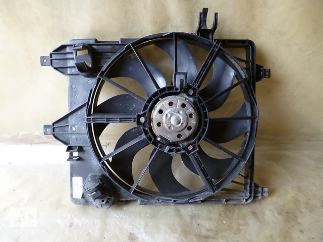 вентилятор renault symbol