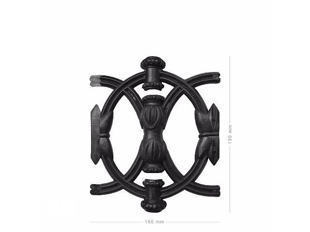 бу Вензель  пластмассовый орнамент ; Кольца в Бахмуте (Артемовске)