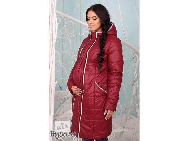 бу Пальто и куртки 2-х сторонние,куртки-слинги для беременных на любую прохладную погоду. в Киеве