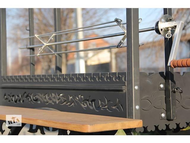 продам Вертел электроприводный из нержавеющей стали (общая длина 110см, длина рабочего поля 100см) бу в Днепре (Днепропетровске)