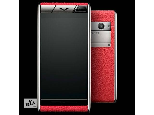 бу Vertu Aster Blush Calf, Verty, верту, копии vertu, копии телефонов vertu, точные копии vertu в Киеве