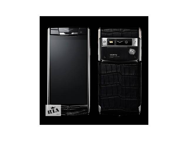 купить бу Vertu Signature Touch Black Alligator, Verty, верту, копии vertu, копии телефонов vertu, точные копии vertu в Киеве