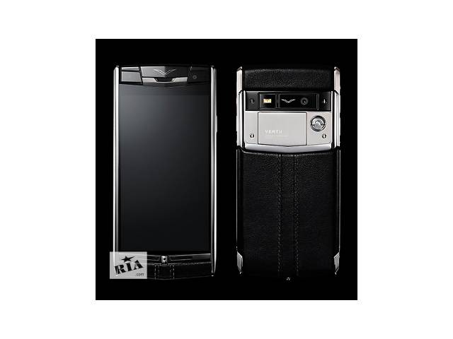 продам Vertu Signature Touch Black Leather, Verty, верту, копии vertu, копии телефонов vertu, точные копии vertu бу в Киеве