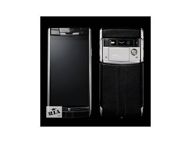 Vertu Signature Touch Black Leather, Verty, верту, копии vertu, копии телефонов vertu, точные копии vertu- объявление о продаже  в Киеве