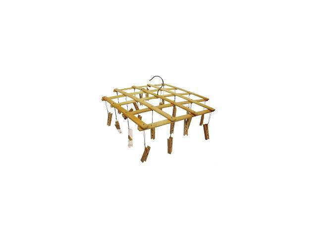 купить бу Вертушка бамбуковая с прищепками для презентации и торговли в Одессе