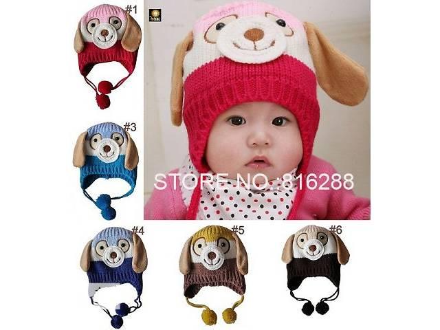 продам веселая детская демисезонная двойная шапка бу в Николаеве