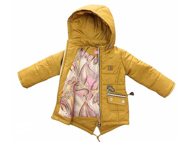 купить бу Весенние куртки (парка) на девочку рост 98,104,110,116 в Харькове