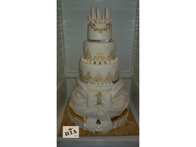 купить бу Свадебный торт на заказ в Львовской области