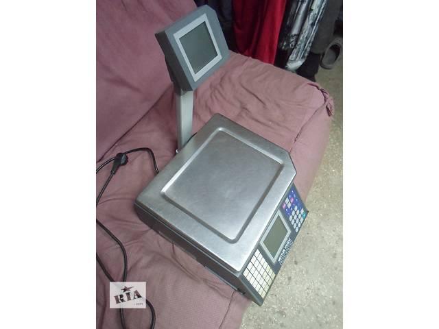 продам Весы с чеко печатью Tiger 15D б у, электронные весы б у, весы Tiger 15D  б у. бу в Киеве